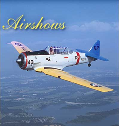 kevin russo airshows T6 Texan